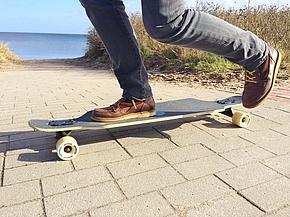 Longboard fahren in Schönhagen